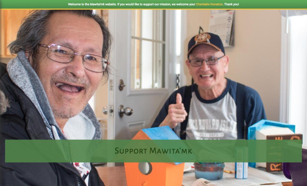 Mawita'mk Society Website by Beach Pea Design